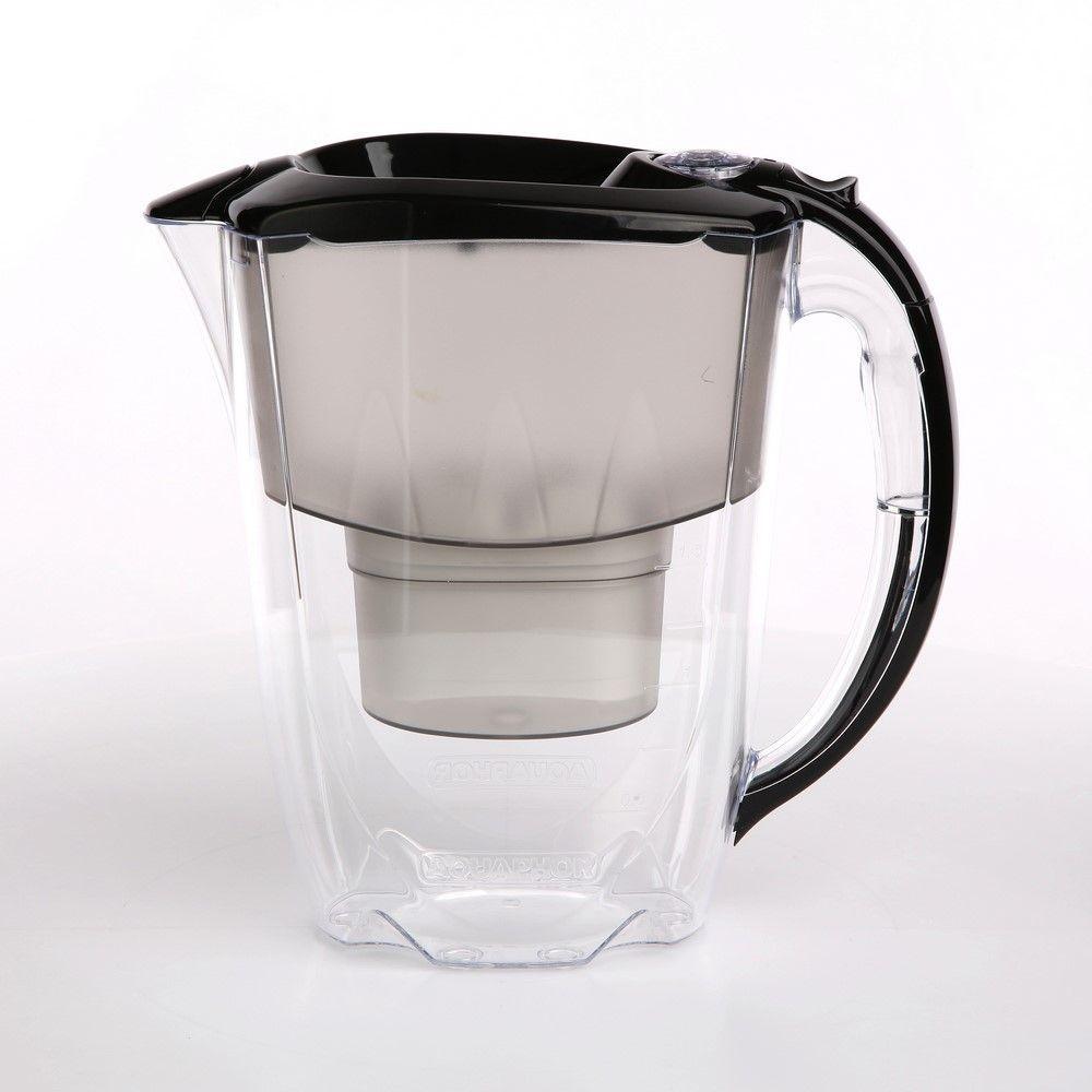Dzbanek Filtrujący wodę Aquaphor Amethyst 2,8 l + 3 wkłady B100-25 Czarny