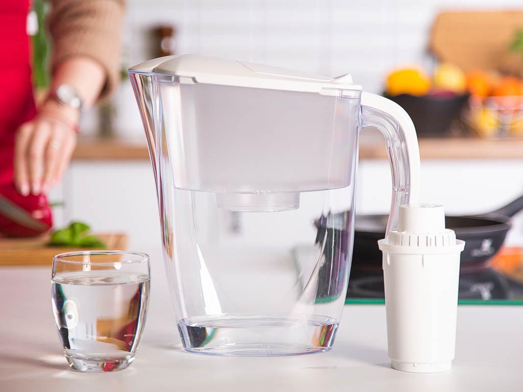 Dzbanek filtrujący z wkładem Aquaphor Dalia Biały B100-5 2,5 l