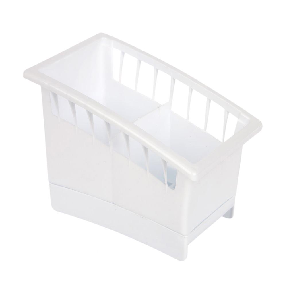 Ociekacz na sztućce plastikowy Lamela biały