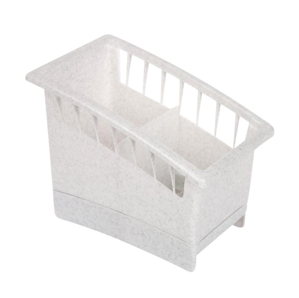 Ociekacz na sztućce plastikowy Lamela marmurek