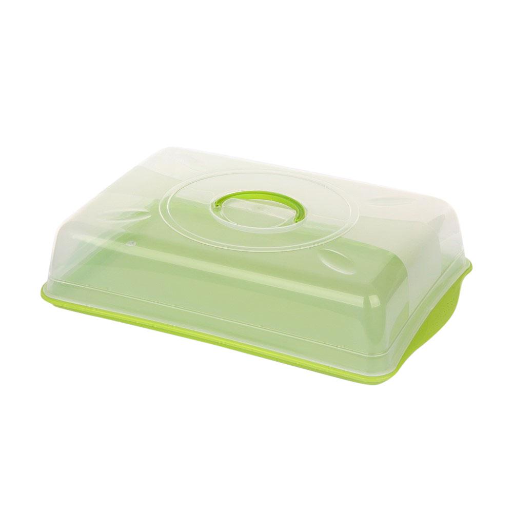Pojemnik na ciasto z pokrywą zieloną