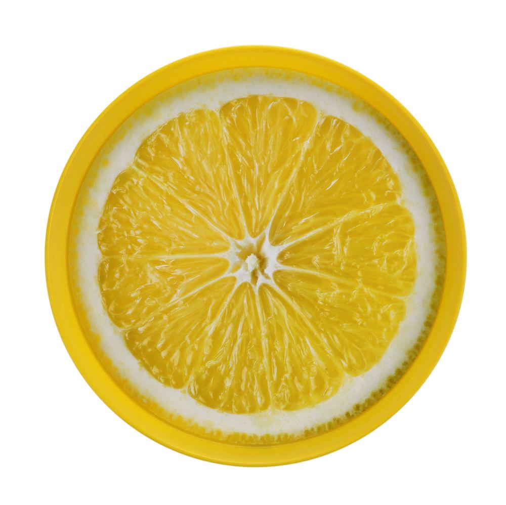 Taca okrągłą Sagad dek. cytryna 35 cm