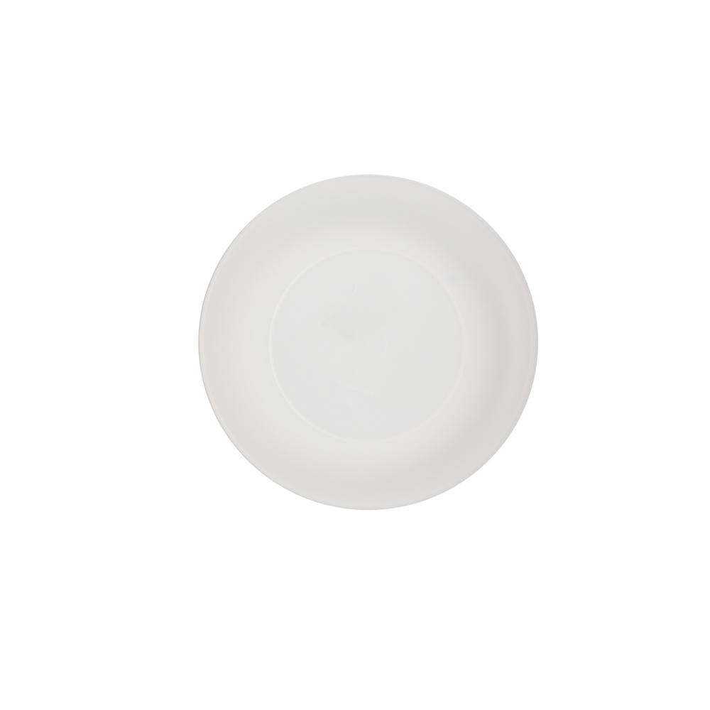 Talerz plastikowy Sagad 17 cm biały