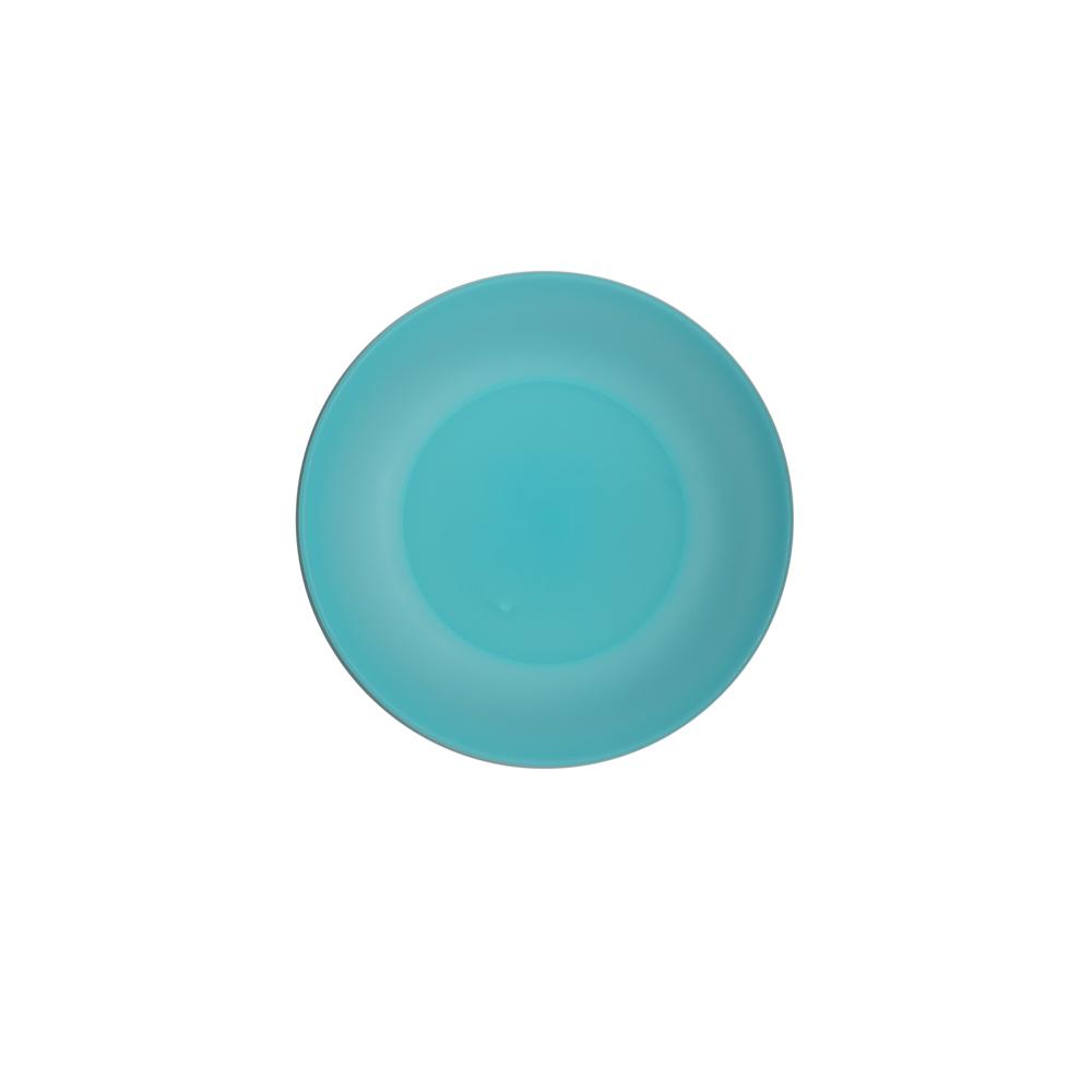 Talerz plastikowy Sagad 17 cm turkus