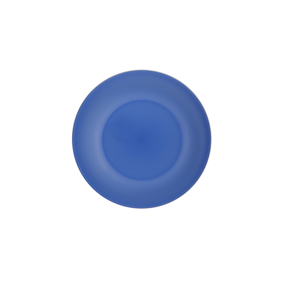 Small plate weekend 17cm blue (039)
