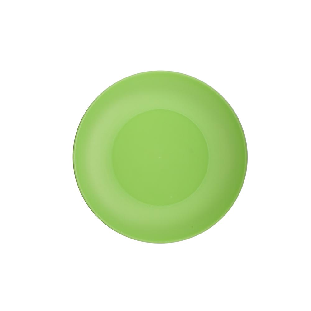 Talerz plastikowy Sagad 22 cm zielony
