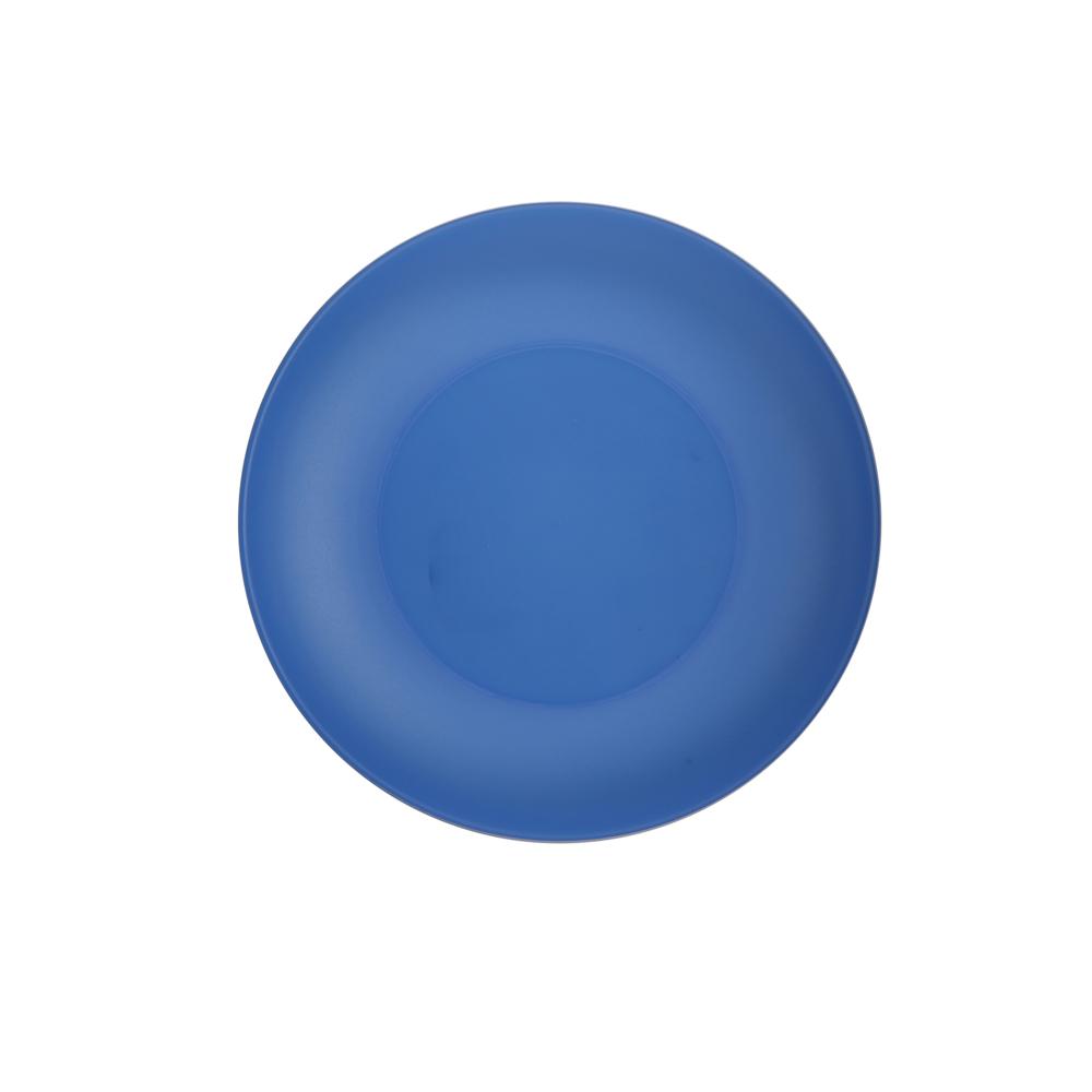 Talerz plastikowy Sagad 22 cm niebieski