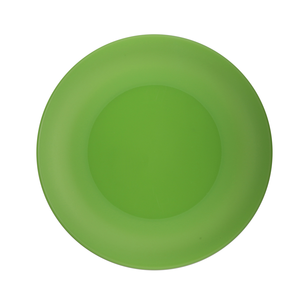 Small plate weekend 26cm green (058)