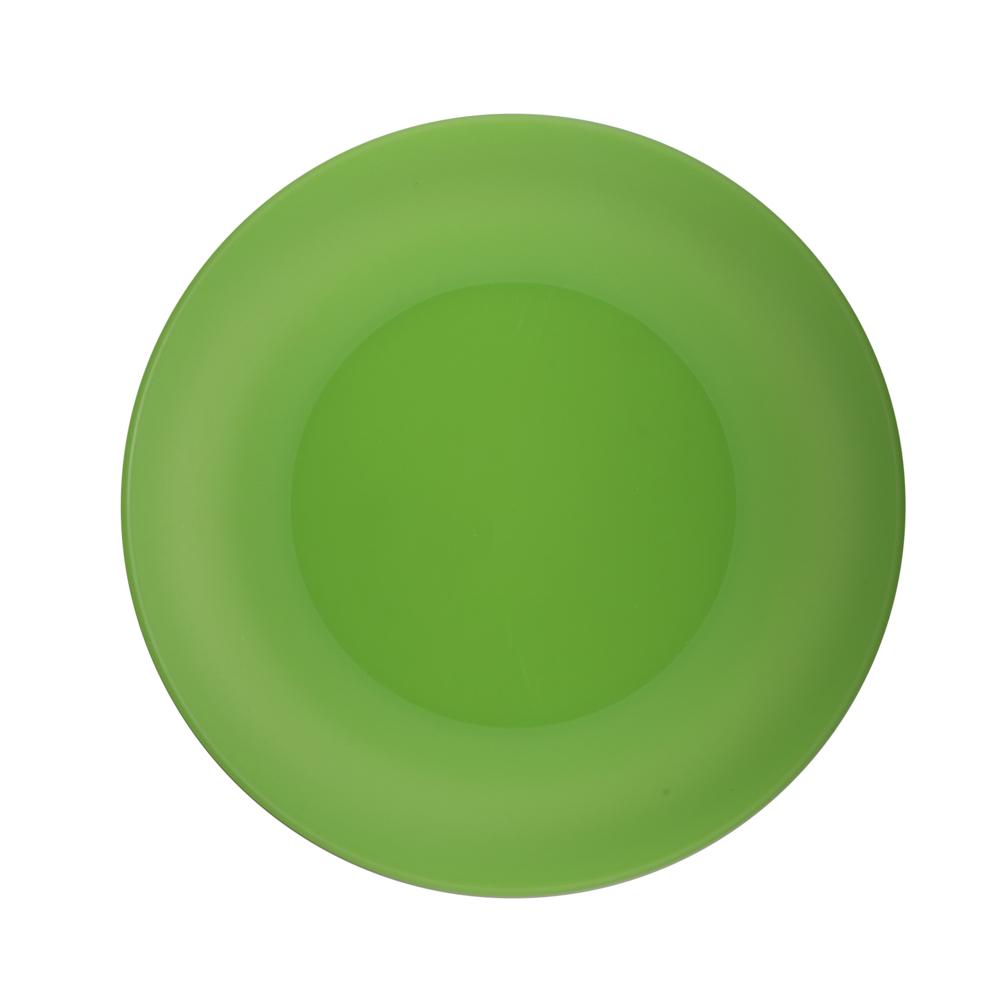 Talerz plastikowy Sagad 26 cm zielony