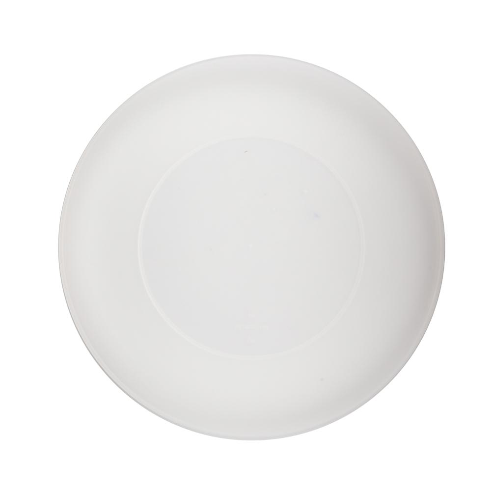 Talerz plastikowy Sagad Weekend 26 cm biały