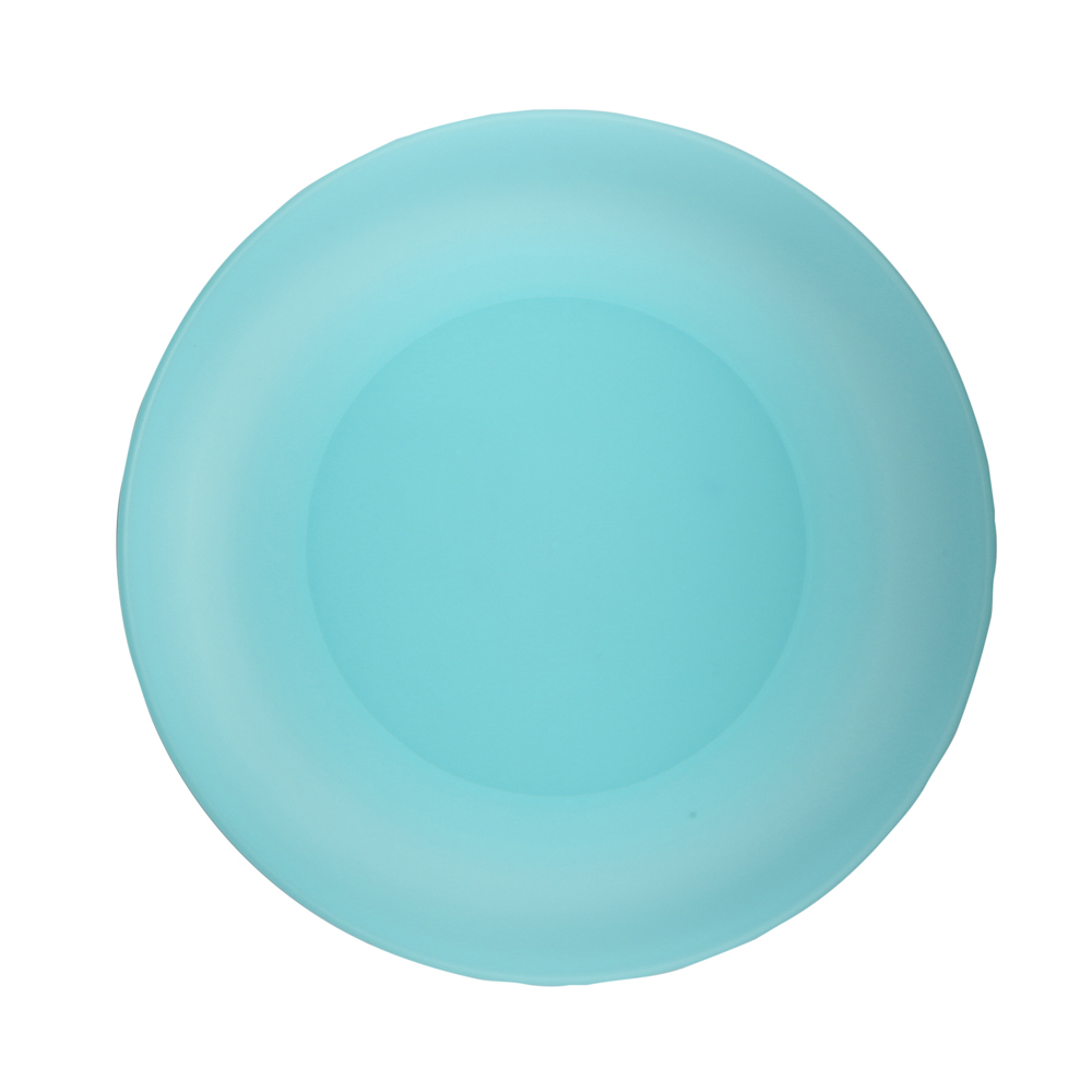 Small plate weekend 26cm turquoise (058)