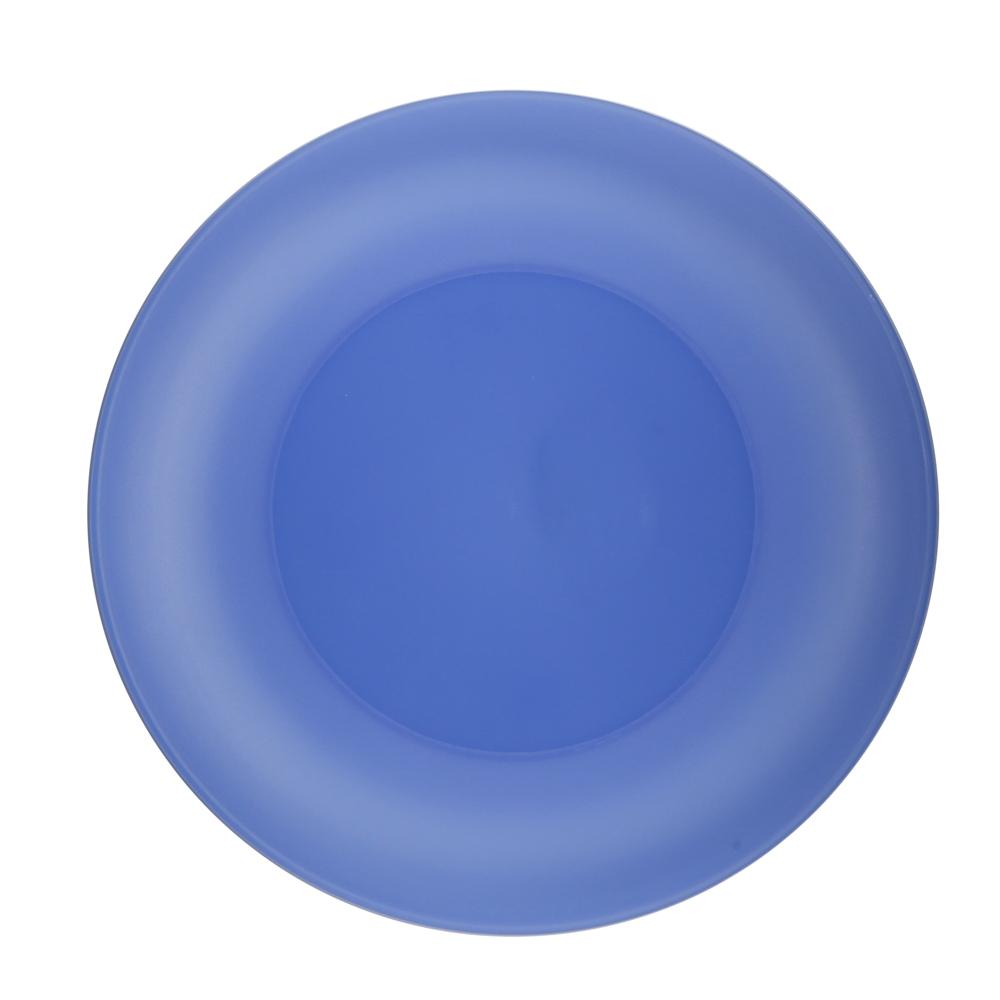 Talerz plastikowy Sagad Weekend 26 cm niebieski