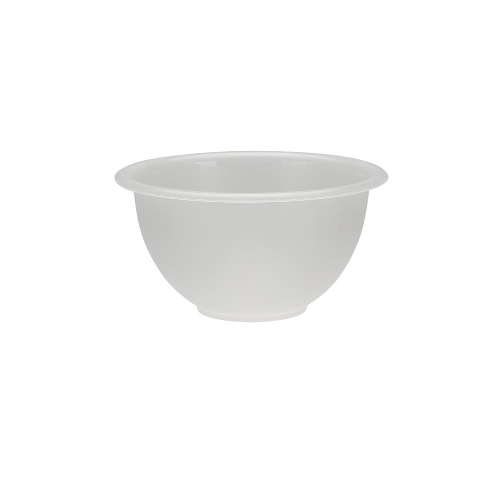 Miseczka z tworzywa sztucznego Sagad Weekend 0,5 l / 13 cm biała