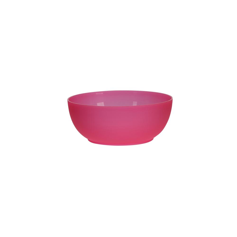Miseczka z tworzywa sztucznego Sagad Weekend 0,3 l / 12 cm różowa