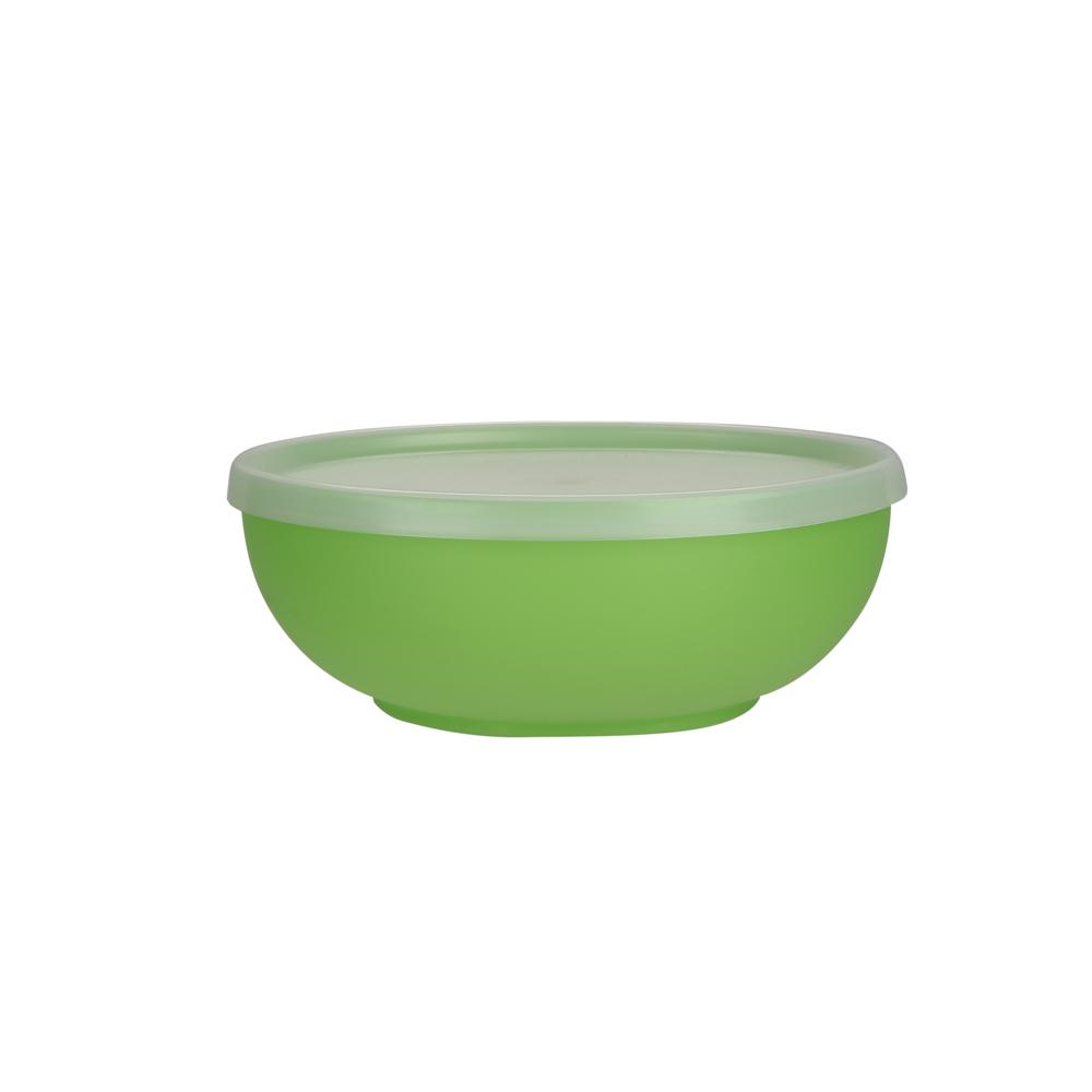 Medium bowl with lid 17cm 0,85l green (223)