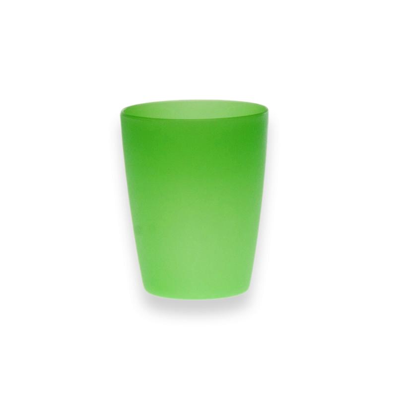 Kubek plastikowy Sagad Weekend 250 ml zielony