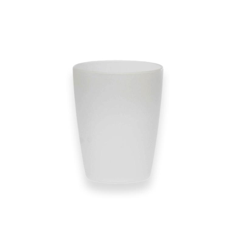 Kubek plastikowy Sagad Weekend 250 ml biały