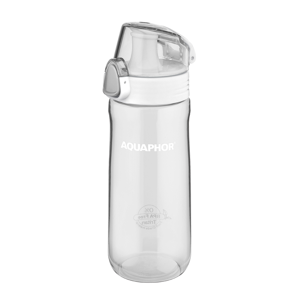 Water bottle Aquaphor 550ml transparent, mix colour