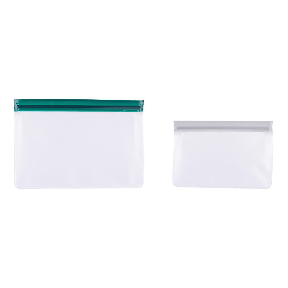 Torebki do przechowywania wielokrotnego użytku komplet 2 szt. 20,5x14,5x6 cm/Bądź Eko