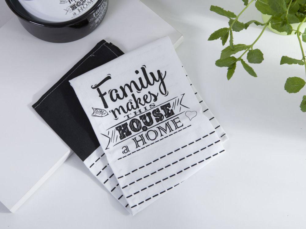 Ścierka / ściereczka kuchenna bawełniana Altom Design kolekcja Family Home