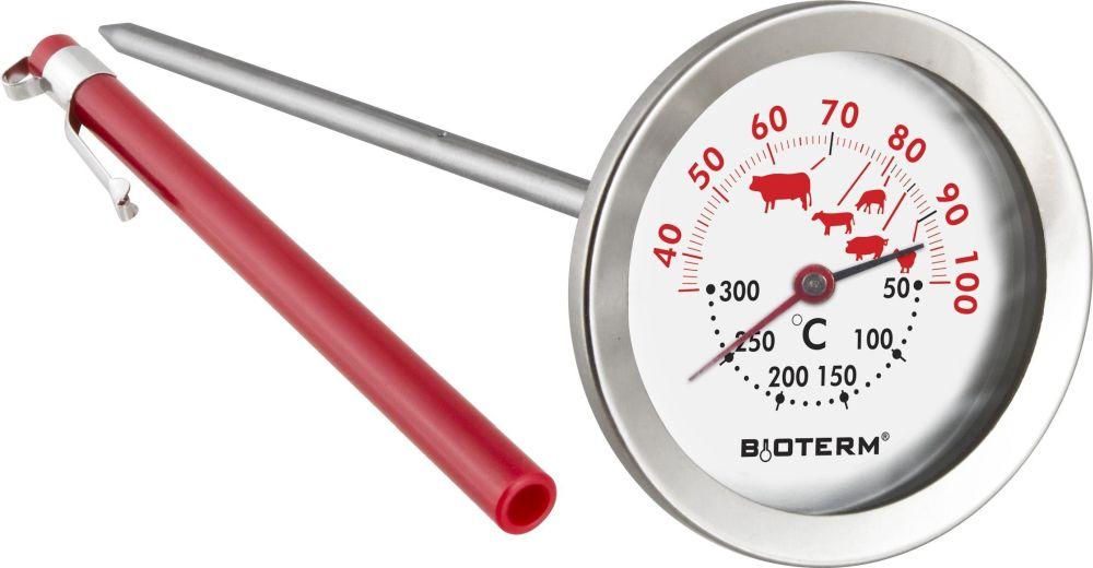 Termometr do pieczenia(30°c do + 100°c) i piekarnika(+50°c +300°c) Browin