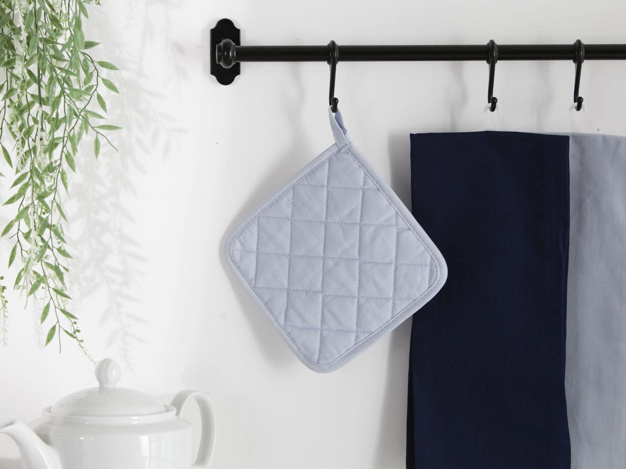 Łapka kuchenna 100% bawełna Altom Design kolekcja Monokolor błękitna