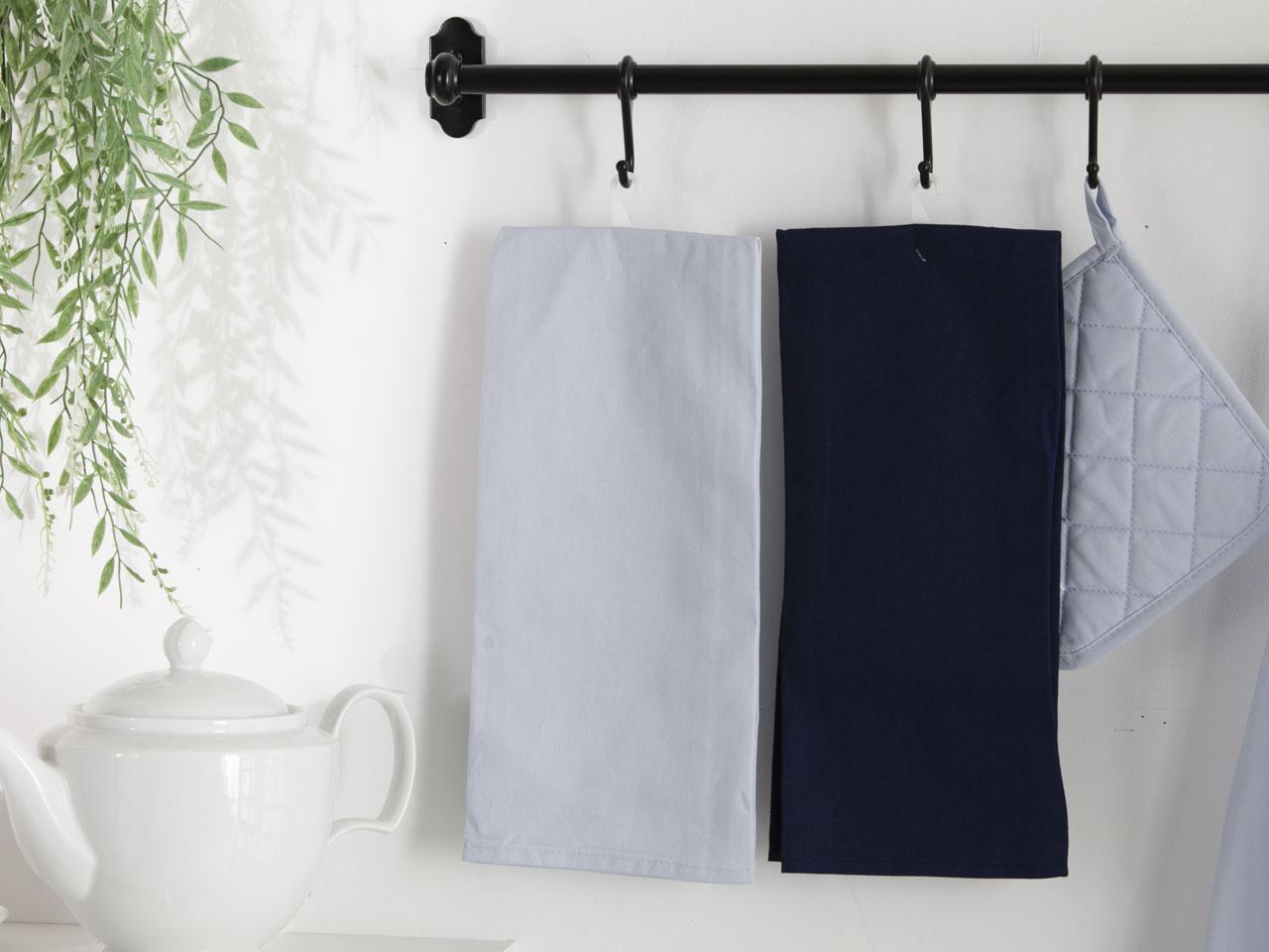 Ręcznik / Ściereczka kuchenna 100% bawełna Altom Design kolekcja Monokolor błękitna