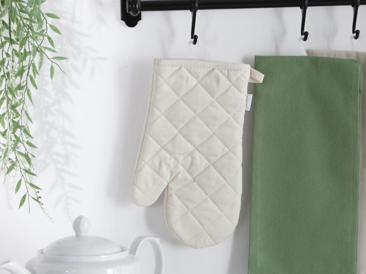Rękawica kuchenna 100% bawełna Altom Design kolekcja Monokolor beżowa