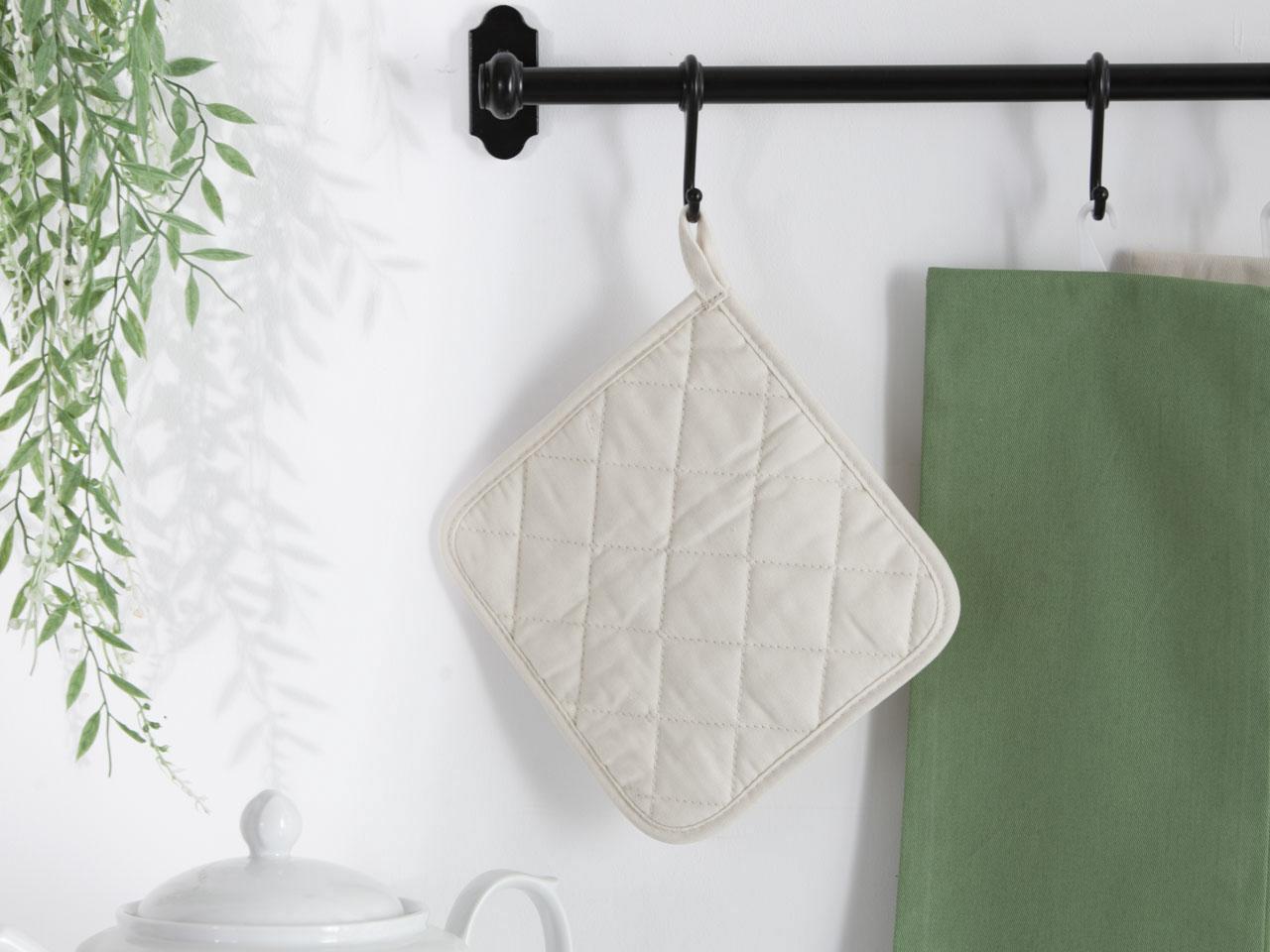 Łapka kuchenna 100% bawełna Altom Design kolekcja Monokolor beżowa