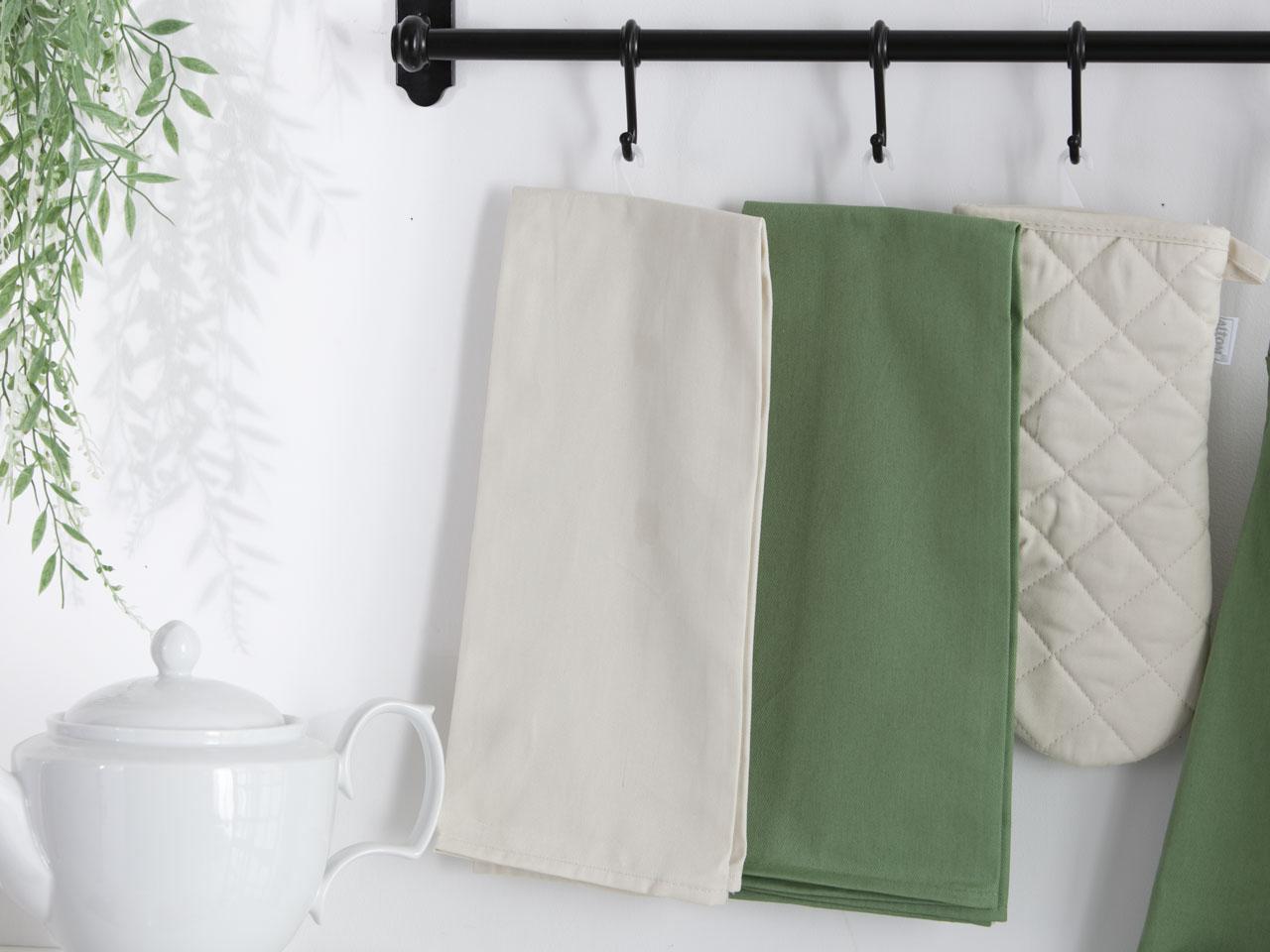 Ręcznik / Ściereczka kuchenna 100% bawełna Altom Design kolekcja Monokolor beżowa
