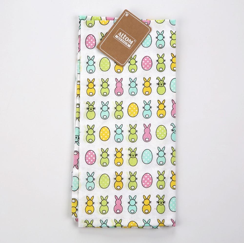 Ręcznik kuchenny Altom Design Wesoły Zajączek 45x70 cm