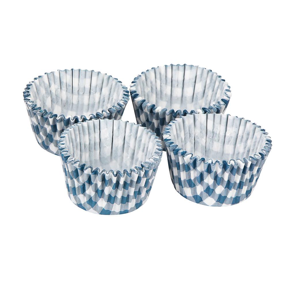 Papilotki / foremki do pieczenia babeczek i muffinek papierowe Altom Design 100 szt. dek. Kratka