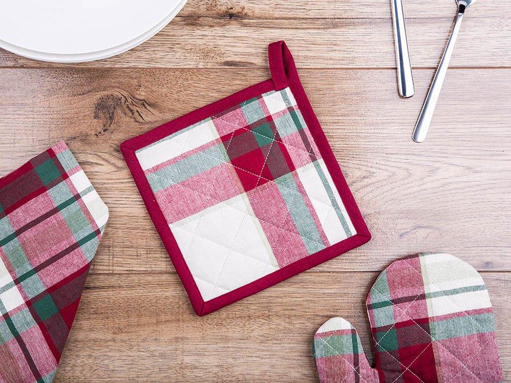 Łapka kuchenna 100% bawełna Altom Design Victoria Red 18 X 18 cm