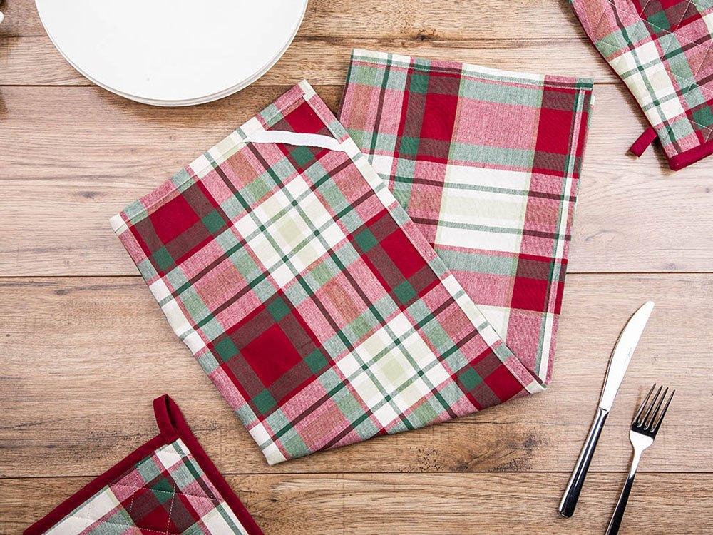 Ręcznik / ściereczka kuchenna 100% bawełna Altom Design Victoria Red 50 x 70 cm