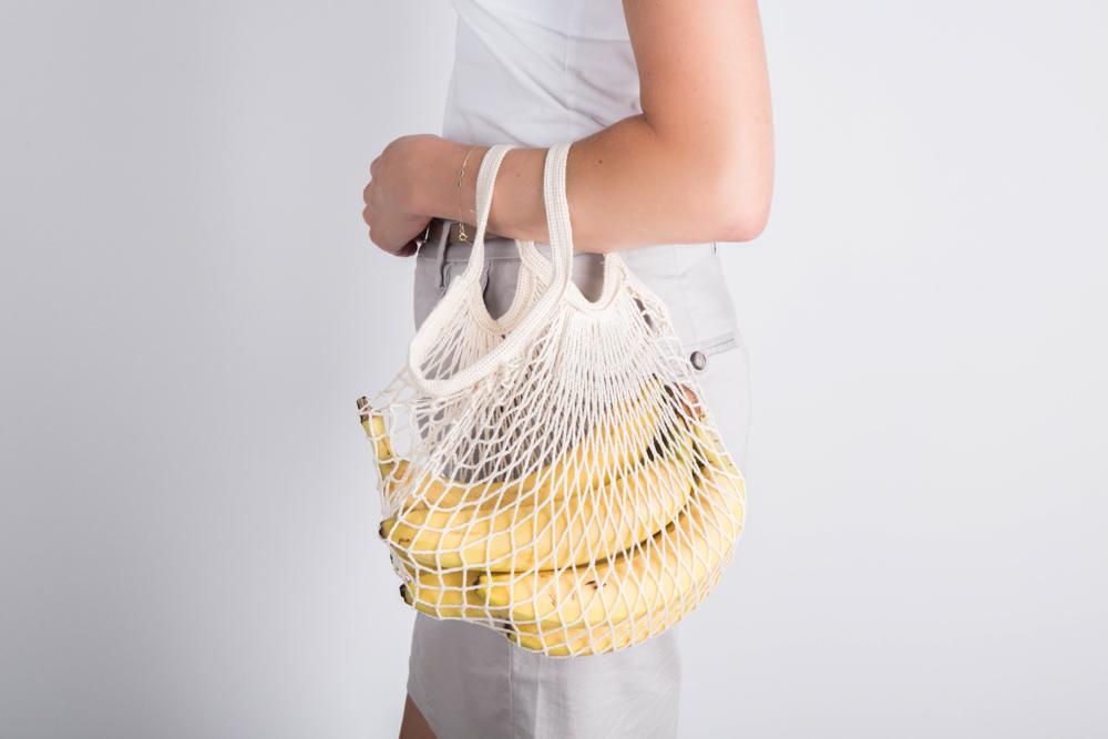 Organic torba bawełniana siatka 40x40 cm/Bądź Eko