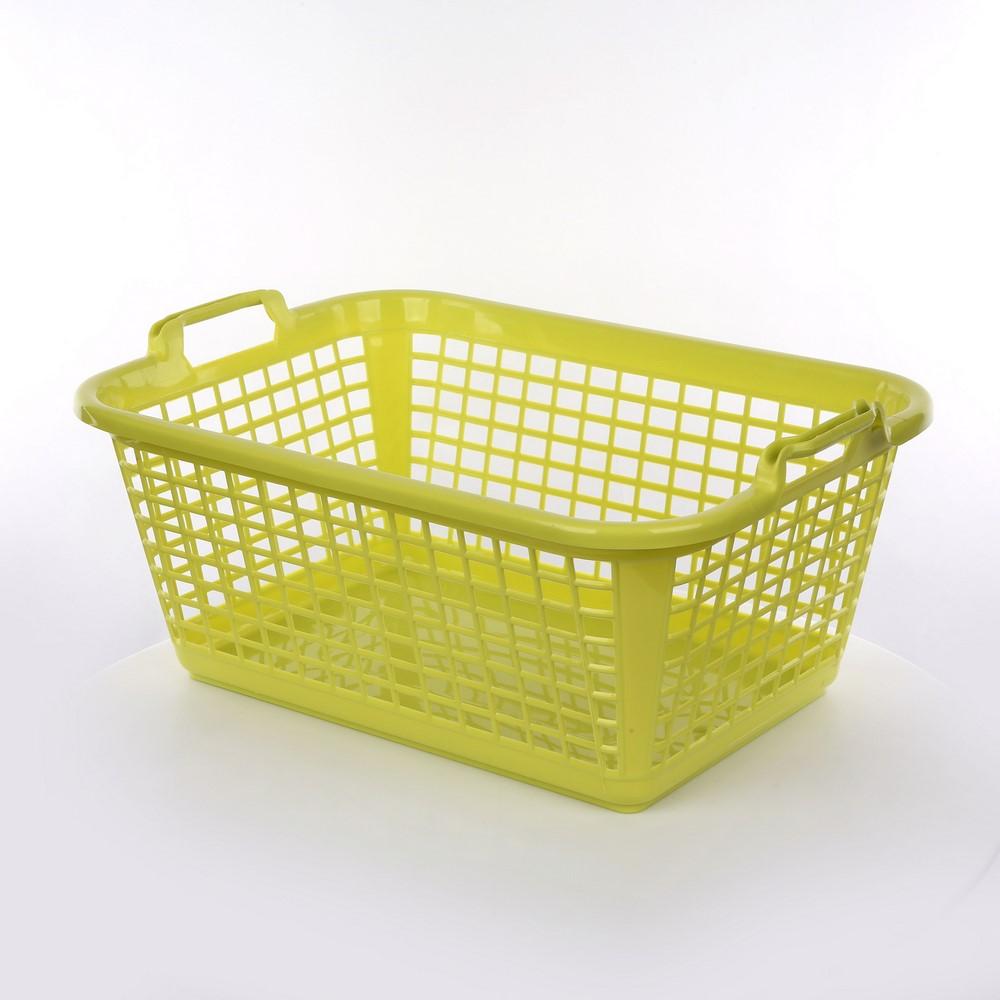 Kosz / koszyk prostokątny seledynowy 35 l