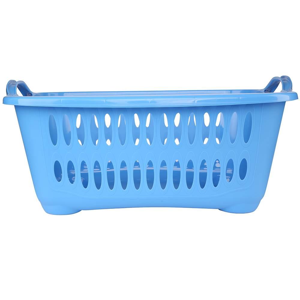 Kosz / pojemnik na pranie / łazienkowy / do przechowywania Tontarelli Cover Line 41 l / 62,5x44,5x27,5 cm niebieski