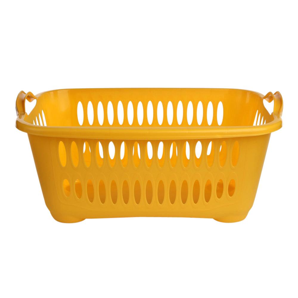 Kosz / pojemnik na pranie / łazienkowy / do przechowywania Tontarelli Cover Line 41 l / 62,5x44,5x27,5 cm żółty