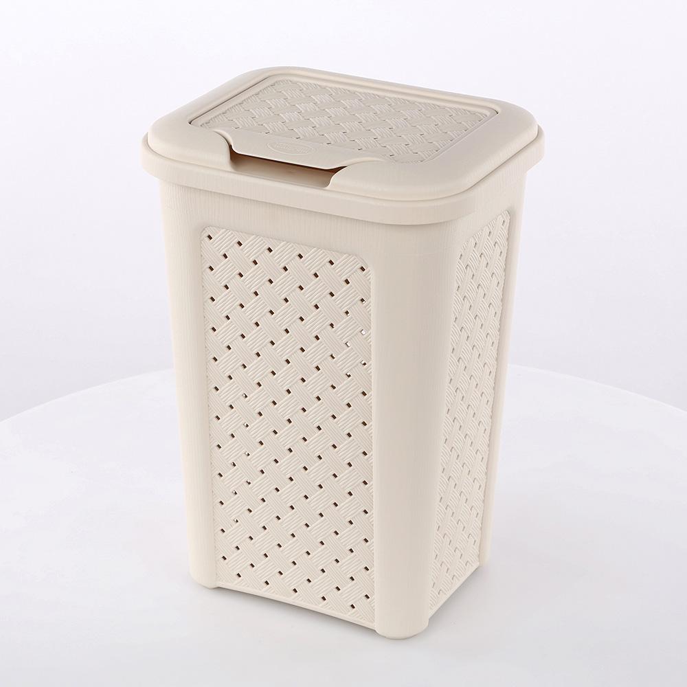 Kosz / pojemnik na pranie Arianna 10 l kremowy
