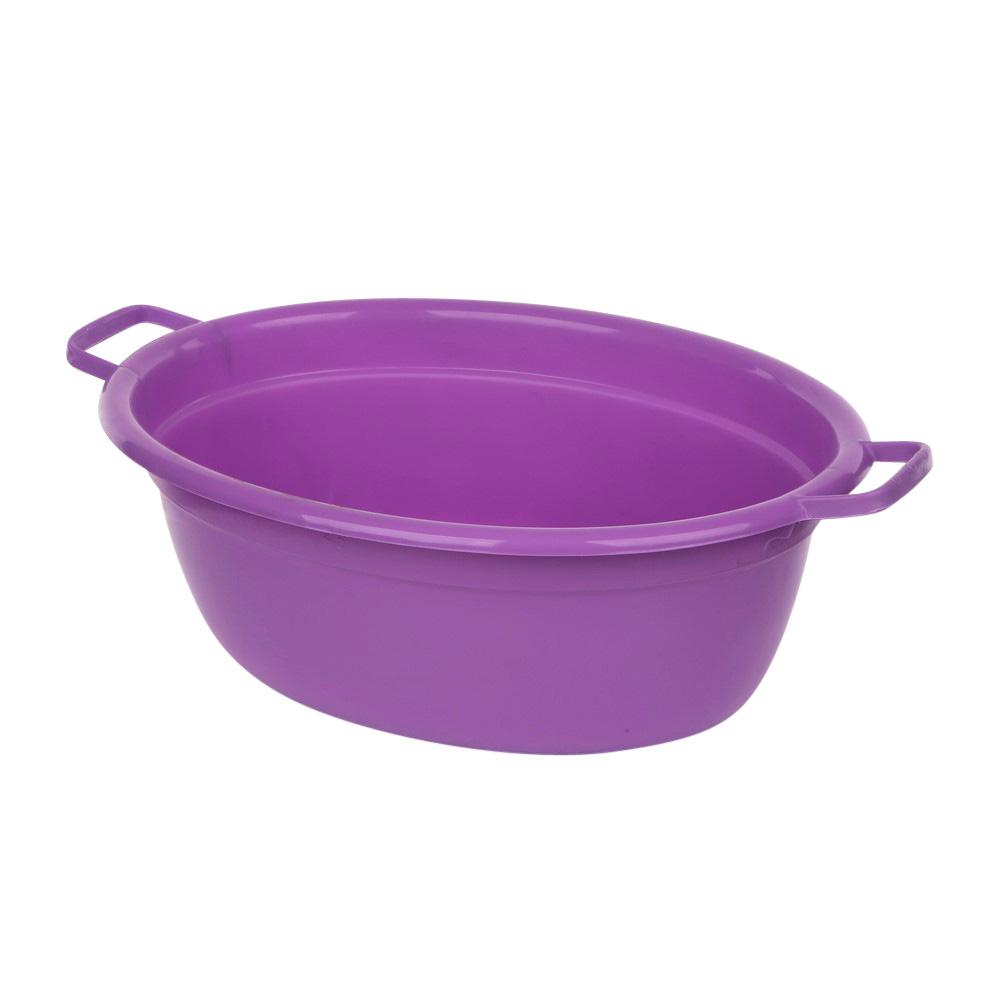 Wanna plastikowa owalna fioletowa 12l
