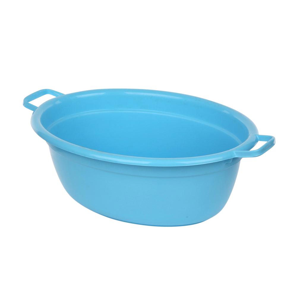Wanna plastikowa owalna niebieska 12l