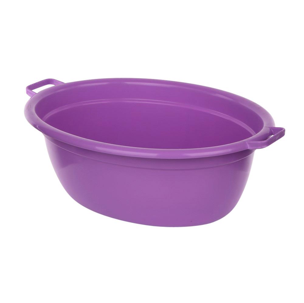 Wanna plastikowa owalna fioletowa 25l
