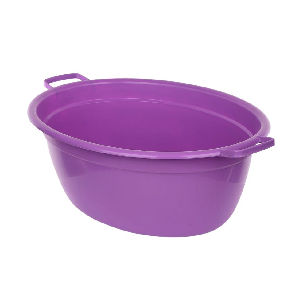Wanna plastikowa owalna fioletowa 40l