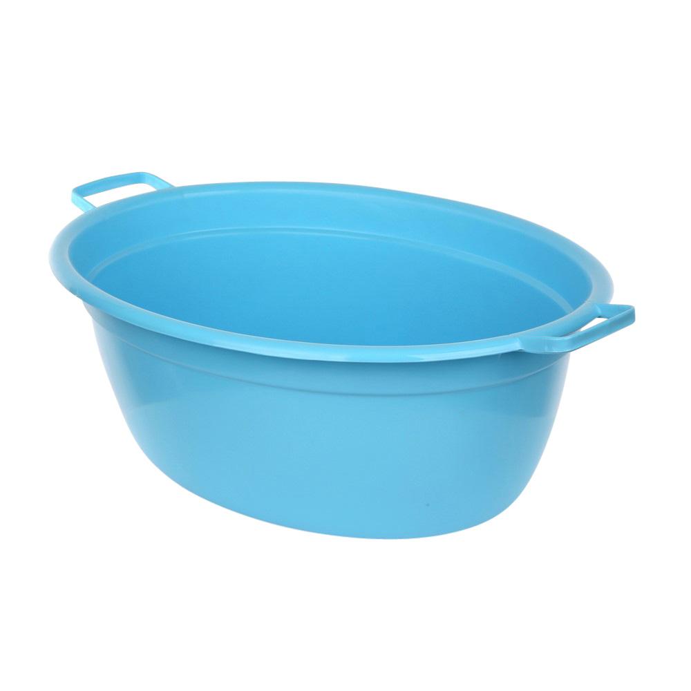 Wanna plastikowa owalna niebieska 40l
