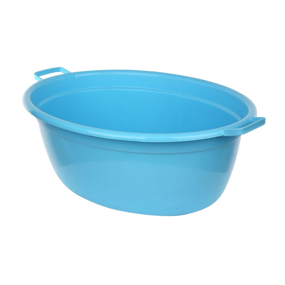 Wanna plastikowa owalna niebieska 60 l