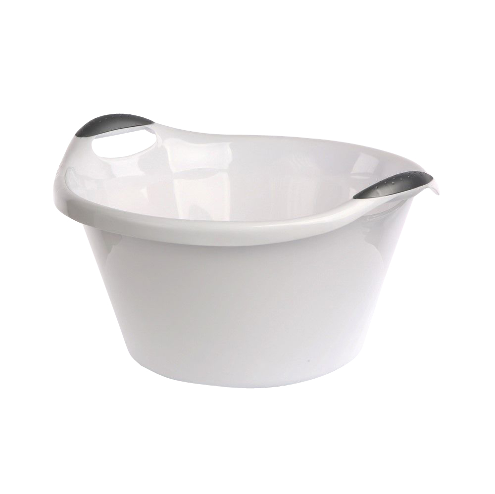 Miska plastikowa owalna Artgos Biała 14 l
