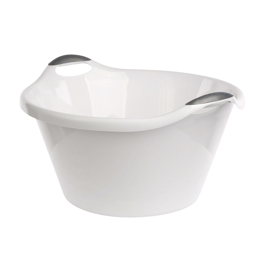 Miska plastikowa biała 25 l