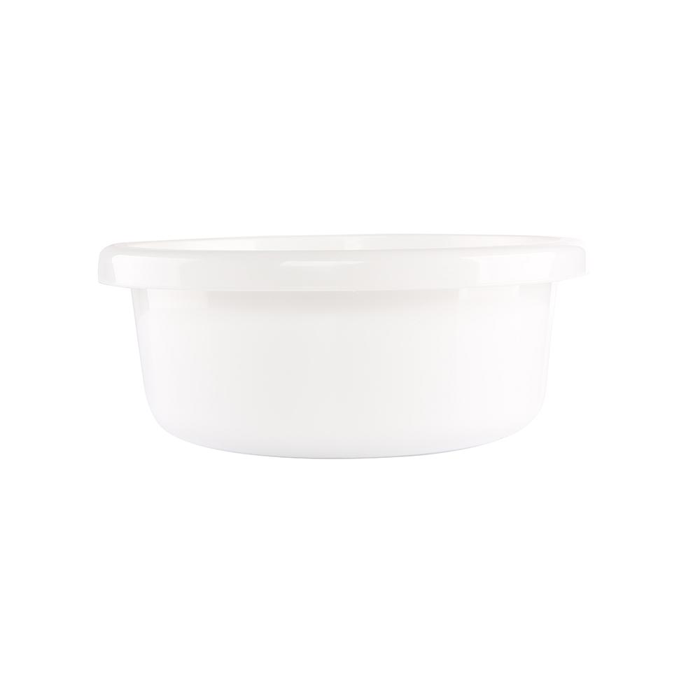 Miska łazienkowa plastikowa okrągła Bentom Classic 31 cm / 6,2 l biały