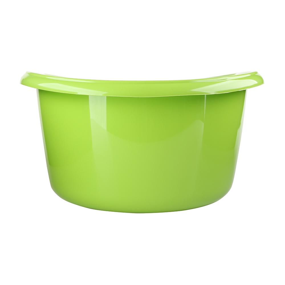 Miska na pranie / łazienkowa plastikowa solidna Bentom 30 l seledyn