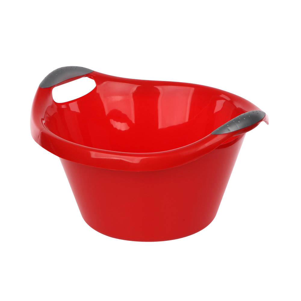 Miska plastikowa czerwona 10l
